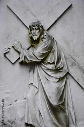 Zdjęcie XXL Jezus niesie swój krzyż