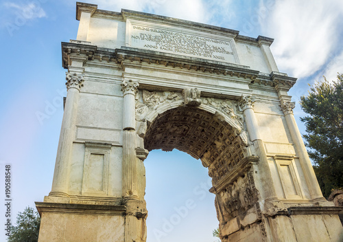 Arch of Titus, Roman Forum, Rome, Italy Wallpaper Mural