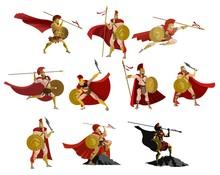 Spartan Powerful Warriors