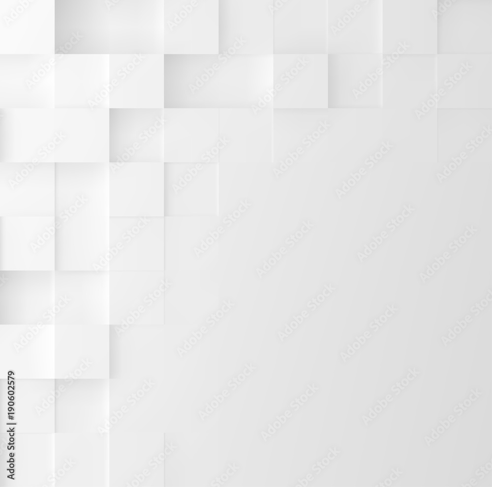 Fototapeta Mosaic square background. Abstract Geometric minimalistic cover design. Vector graphic.