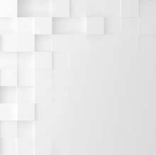 Mosaic Square Background. Abst...
