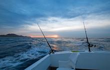 Morning Sunrise View Of Fishin...