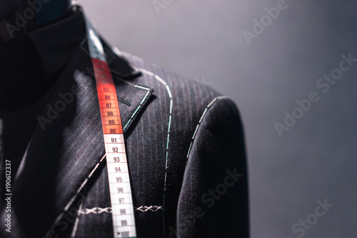 Fotografia luxury suit in store