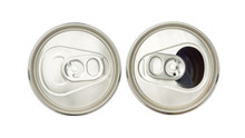 Close Up Of Aluminum Cans On A...