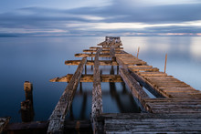 Long Exposure Of The Old Dock ...