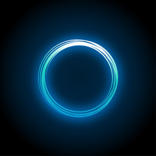 Neon Circle Design