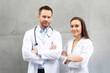 Lekarz i pielęgniarka. Zespół medyczny