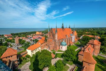 Frombork - panorama miasta