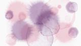 pastel tone color abstract watercolor drop vector background - sakura blossom tone color  - 190645107