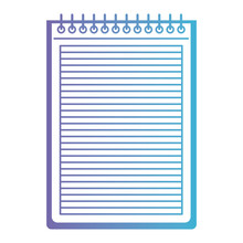 Notebook Lines School Spiral P...