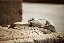 Pharaoh Stone Sarcophagus Tomb