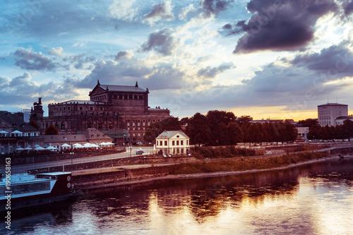 Foto op Plexiglas Japan street view of downtown Dresden, Germany