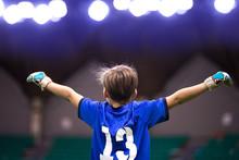 Boy Sport Soccer Player Celebr...
