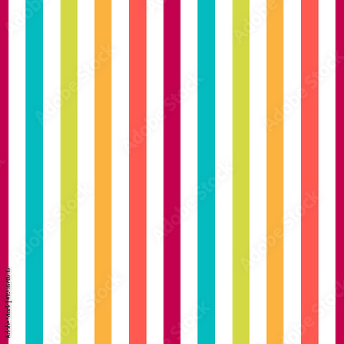 Cotton fabric Seamless pattern stripe colorful pastel colors. Vertical pattern stripe abstract background vector illustration