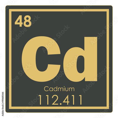 Cadmium Chemical Element Buy This Stock Illustration And Explore