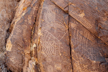 Petroglyphs At Parowan Gap 03