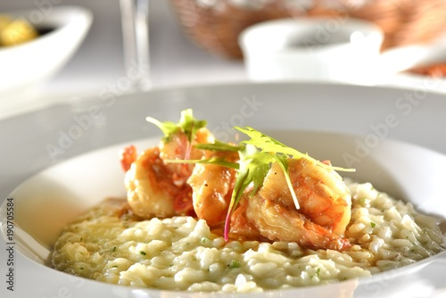 Shrimp Risoto