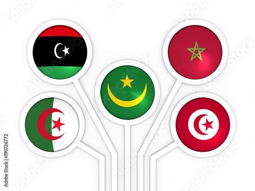Arab Maghreb Union - association of five national economies