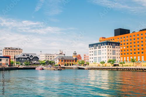 Fotografie, Obraz  Mojiko retro town and port in Japan