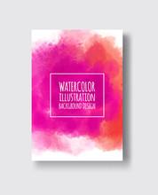 Watercolor Design Banner