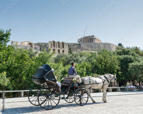 Carriage Rides in Athens , Greece