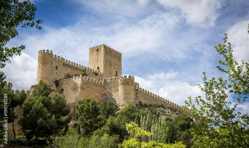 Almansa castle, Castilla la Mancha, Spain