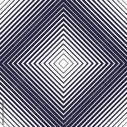 Square Shape Lines Vector Seamless Pattern Geometric