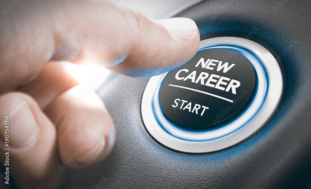 Fototapety, obrazy: Career opportunities, Recruitment or Staffing Concept