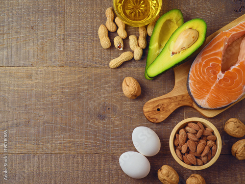 Ketogenic low carbs diet concept Canvas Print