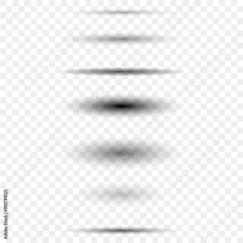 Fotomural Circle shadow set