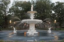 Historic Forsyth Park Fountain