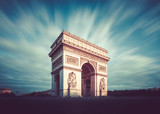 Fototapeta Paryż - Arc de Triomphe, Paris, France