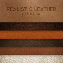 Leather Texture Realistic Samp...