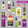 Glue Tubes Set