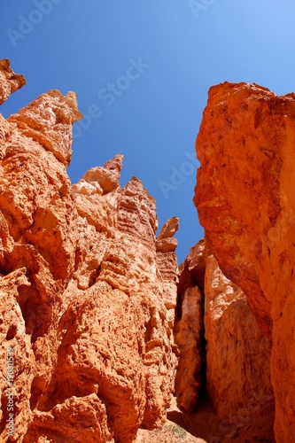 Foto op Canvas Rood traf. rock formations from Bryce Canyon National Park Utah