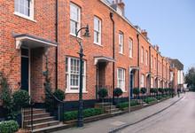 Red Brick Modern Architecture ...