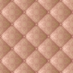 Fototapetaquilted fabric, seamless pattern