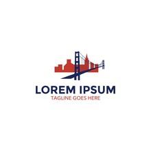 San Francisco Landmarks Logo. ...