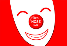 Red Nose Day Greeting Card Wit...