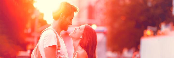 Couple falling in love dati...