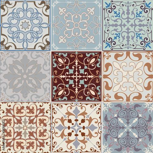 plytki-ceramiczne-kolorach-retro-wzory-vintage-i-motywy-kwiatowe-w-stylu-ilustracji-wektorowych-mozaiki-z-ornamentem
