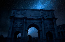 Milky Way And Triumphal Arch I...