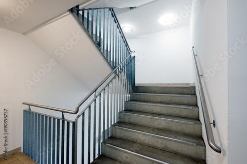Obraz na płótnie Treppenhaus Stufen