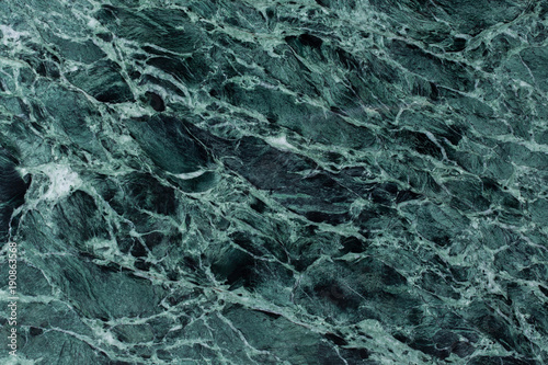 Poster Marble Close up of green marble texture background.