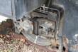 Alte ausrangierte Lock