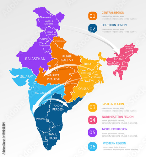 India regions business colorful map and points on white ... on map of united kingdom, map south india, map of united arab emirates, map of iran, map of singapore, map of rajasthan, map of khajuraho, map of mumbai, map of gujarat, map of pakistan, map of burma, map of goa, map of bihar, map of kerala, map of kolkata, map of assam, world map india, map of delhi, map of yemen, map of varanasi,