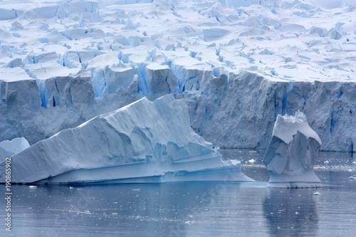 Tuinposter Antarctica Gletscher Antarktis