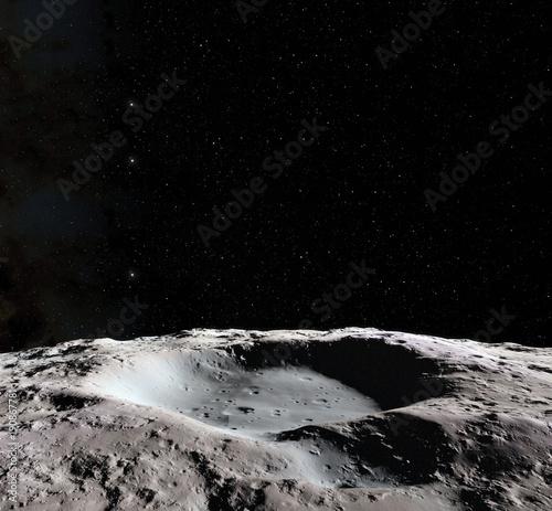 Tableau sur Toile Moon surface