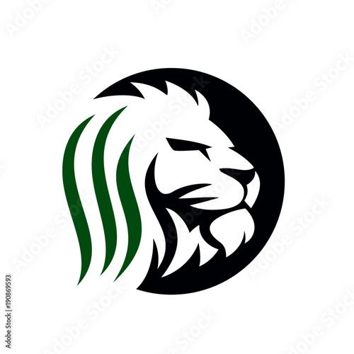 Fototapety, obrazy: Lion Logo Stock Images