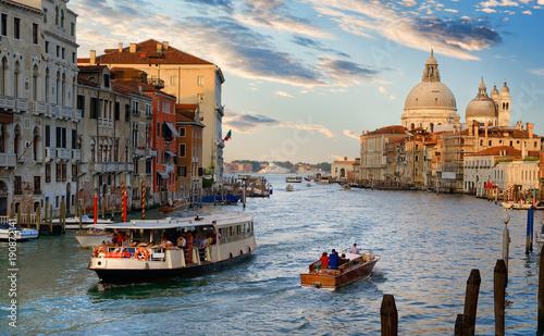 Fototapeta Transport of Venice obraz na płótnie